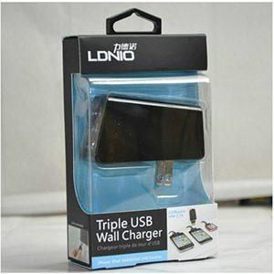 شارژر 3 پورت دیواری برند LDINO