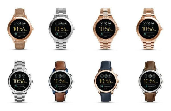 معرفی ساعت های هوشمند FOSSIL