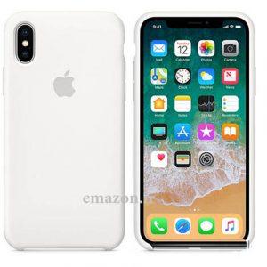 کاور محافظ سیلیکونی اورجینال گوشی موبایل اپل آیفون X