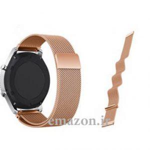 بند فلزی ساعت هوشمند سامسونگ SAMSUNG GEAR S3 مدل MILANESE LOOP